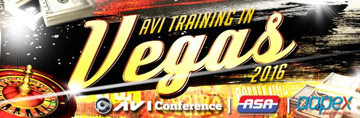 Vegas 2016, AVI Conference